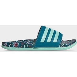 Adidas Women's Adilette Comfort Slide Sandals in Blue/Teal Size 8.0 found on Bargain Bro Philippines from Finish Line for $40.00