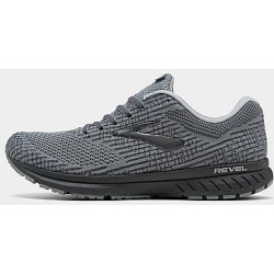 Brooks Men's Revel 3 Running Shoes in Grey Size 13.0 Knit