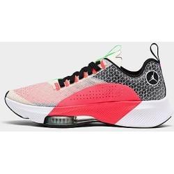 Jordan Men's Air Zoom Renegade Running Shoes in White/Red Size 11.0