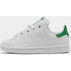 Adidas Little Kids' Originals Stan Smith Casual Shoes in White Size 2.0 Leather found on Bargain Bro Philippines from Finish Line for $55.00