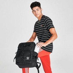 Adidas Originals Modular Backpack in Black/Black 100% Polyester found on Bargain Bro from Finish Line for USD $34.20