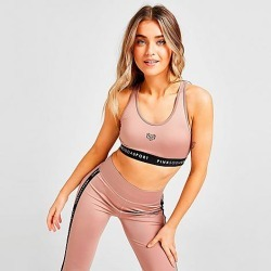 Pink Soda Sport Women's Velvet Medium-Support Sports Bra in Purple Size X-Small found on Bargain Bro India from Finish Line for $30.00