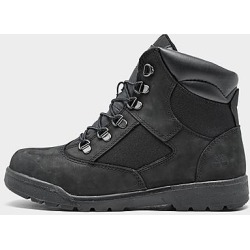 Timberland Big Kids' 6 Inch Field Boots in Black/Black Size 5.5 Leather found on Bargain Bro Philippines from Finish Line for $89.99