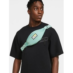 Nike Heritage Swoosh Fly Small Basketball Hip Pack in Blue/Light Dew 100% Polyester found on Bargain Bro from Finish Line for USD $15.20