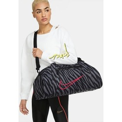 Nike Women's Gym Club Printed Training Duffel Bag in Pink/Black/Animal Print/Black 100% Polyester found on Bargain Bro Philippines from Finish Line for $40.00