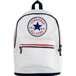 Converse All Star Chenille Patch Backpack in White/White found on Bargain Bro from Finish Line for USD $19.00
