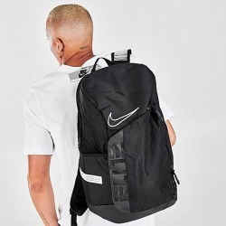 Nike Elite Pro Hoops Basketball Backpack in Black/Black 100% Polyester found on Bargain Bro from Finish Line for USD $49.40