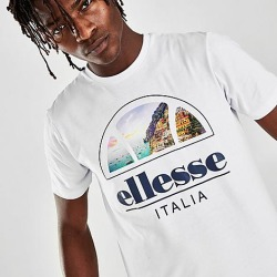 Ellesse Men's Chia T-Shirt in White Size Medium 100% Cotton found on MODAPINS from Finish Line for USD $25.00