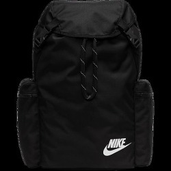 Nike Heritage Rucksack Bag in Black/Black 100% Polyester found on Bargain Bro from Finish Line for USD $38.00