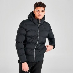 Superdry Men's Training Heavy Padded Jacket in Black Size Large Polyester found on Bargain Bro India from Finish Line for $99.95