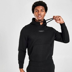 Sonneti Men's London Hoodie in Black Size X-Small Fleece found on Bargain Bro India from Finish Line for $30.00