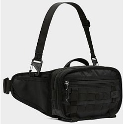 Nike Sportswear Small RPM Waist Pack in Black/Black 100% Polyester found on Bargain Bro from Finish Line for USD $41.80