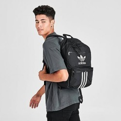 Adidas Originals Reflective 3-Stripes Backpack in Black 100% Polyester found on MODAPINS from Finish Line for USD $40.00