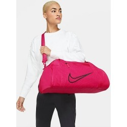 Nike Women's Gym Club Duffel Bag in Pink/Fireberry 100% Polyester found on Bargain Bro from Finish Line for USD $30.40