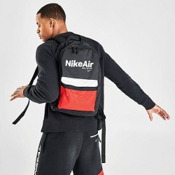 Nike Air Heritage 2.0 Backpack in Black/Black Polyester found on Bargain Bro from Finish Line for USD $15.20