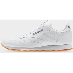 Reebok Men's Classic Leather Gum Casual Shoes in White Size 12.0 found on Bargain Bro Philippines from Finish Line for $75.00