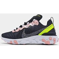 Nike Women's React Element 55 Casual Shoes in Black Size 6.0 found on MODAPINS from Finish Line for USD $60.00