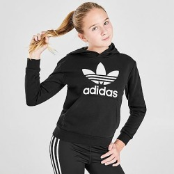 Adidas Kids' Originals Trefoil Hoodie in Black Size X-Large Cotton/Polyester found on Bargain Bro Philippines from Finish Line for $45.00