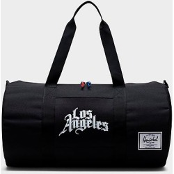 Herschel City Edition Team Logo Screenprint Sutton Mid Duffel Bag in Black/Black found on MODAPINS from Finish Line for USD $79.99