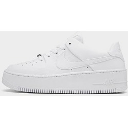 Nike Women's Air Force 1 Sage XX Low Casual Shoes in White Size 11.0 Leather/Suede found on Bargain Bro Philippines from Finish Line for $100.00