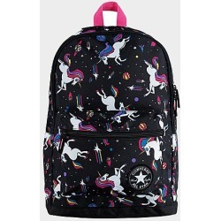 Converse Kids' Unicorn Allover Print Backpack in Black/Animal Print/Black found on Bargain Bro Philippines from Finish Line for $40.00