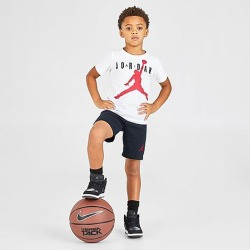 Jordan Boys' Toddler and Little Kids' Jumpman Air Shorts in Black Size Medium found on MODAPINS from Finish Line for USD $18.00
