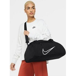 Nike Women's Gym Club Duffel Bag in Black/Black 100% Polyester found on Bargain Bro from Finish Line for USD $30.40