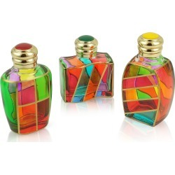 Due Zeta Designer Murano Accents, Goldoni - Hand Decorated Murano Glass Enamel-Capped Perfume Bottles found on Bargain Bro UK from FORZIERI.COM (UK)
