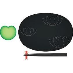 Alessi Designer Kitchen & Dining, Lily Pond - Sushi Set found on Bargain Bro UK from FORZIERI.COM (UK)
