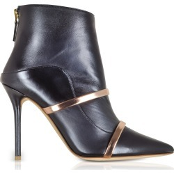 Malone Souliers Designer Shoes, Madison 100 Midnight Blue Nappa Leather Boots found on Bargain Bro Philippines from Forzieri for $303.30