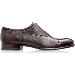 Moreschi Designer Shoes, Nice Dark Brown Deerskin Oxford Shoes found on Bargain Bro Philippines from Forzieri for $506.00