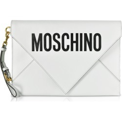 Moschino Designer Handbags, Flat Signature Envelope Clutch found on Bargain Bro Philippines from Forzieri for $264.00