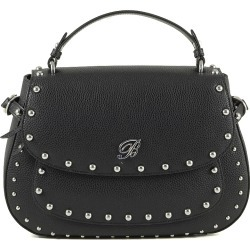 Blumarine Designer Handbags, Andrea Black Leather Top Handle Bag found on Bargain Bro UK from FORZIERI.COM (UK)