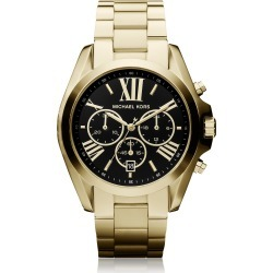 Michael Kors Designer Women's Watches, Bradshaw Goldtone Stainless Steel Women's Chronograph Watch found on Bargain Bro UK from FORZIERI.COM (UK)