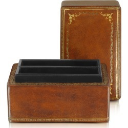 Forzieri Designer Small Leather Goods, Genuine Leather Card Box found on Bargain Bro Philippines from FORZIERI  AU for $200.73