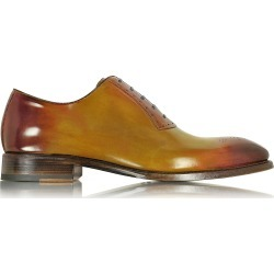 Forzieri Designer Shoes, Italian Handcrafted Two-Tone Leather Oxford Shoe found on Bargain Bro Philippines from Forzieri for $650.00