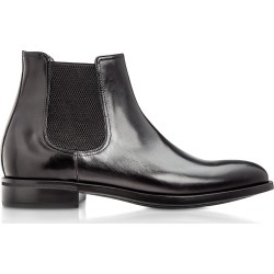 Moreschi Designer Shoes, Chelsea Black Calfskin Boots found on Bargain Bro Philippines from Forzieri for $512.00