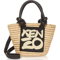 Kenzo Designer Handbags, Kopakabana Raffia Mini Tote Bag found on Bargain Bro UK from FORZIERI.COM (UK)