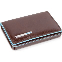 Piquadro Designer Small Leather Goods, Square Leather Card Case found on Bargain Bro India from Forzieri for $89.00