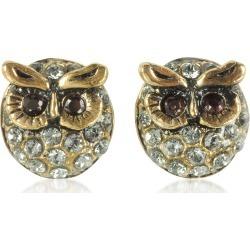 Alcozer & J Designer Earrings, Owl Earrings w/Crystals found on Bargain Bro UK from FORZIERI.COM (UK)