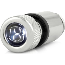 Bentley Designer Silver Giftware, Rechargeable Jewelled Torch found on Bargain Bro UK from FORZIERI.COM (UK)