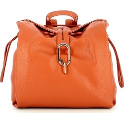 Liu Jo Designer Handbags, Orange Soft Backpack found on MODAPINS from Forzieri for USD $178.00
