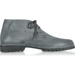 Pakerson Designer Shoes, Smoke Handmade Italian Leather Ankle Boots found on Bargain Bro Philippines from Forzieri for $427.00