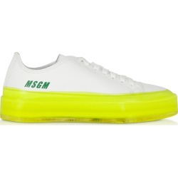 MSGM Designer Shoes, MSGM Fluo Floating Sneakers found on Bargain Bro UK from FORZIERI.COM (UK)