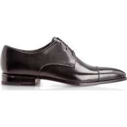 Moreschi Designer Shoes, Lipsia Black Buffalo Leather Derby Shoes found on Bargain Bro Philippines from Forzieri for $455.00