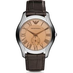 Emporio Armani Designer Men's Watches, Steel Men's Watch w/Croco strap found on Bargain Bro Philippines from Forzieri for $195.00