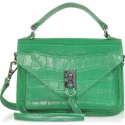 Rebecca Minkoff Designer Handbags, Croco Embossed Leather Mini Darren Messenger Bag found on Bargain Bro UK from FORZIERI.COM (UK)