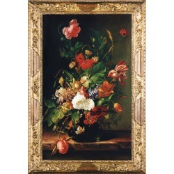 Bianchi Arte Designer Paintings, Oil on Canvas Still Life Painting found on Bargain Bro India from Forzieri for $1980.00