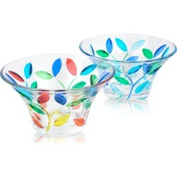 Due Zeta Designer Murano Accents, Rialto - Hand Decorated Murano Glass Small Bowl found on Bargain Bro UK from FORZIERI.COM (UK)