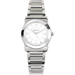 Salvatore Ferragamo Designer Women's Watches, Vega Silver Tone Stainless Steel Women's Watch found on Bargain Bro Philippines from Forzieri for $1095.00